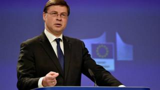Ντομπρόβσκις: Εξετάζουμε πιθανότητα διαδικασίας υπερβολικού ελλείματος σε βάρος της Ιταλίας