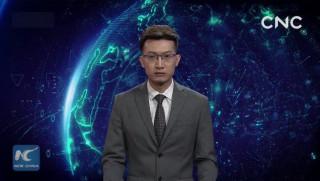 Εικονικός παρουσιαστής ειδήσεων… έπιασε δουλειά