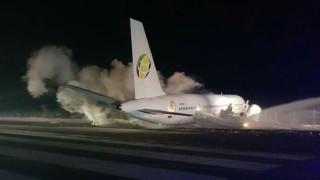 Αναγκαστική προσγείωση αεροπλάνου στην Γουιάνα - Έξι τραυματίες