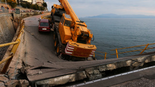 Κατέρρευσε γέφυρα σε κεντρικό σημείο στην Καβάλα