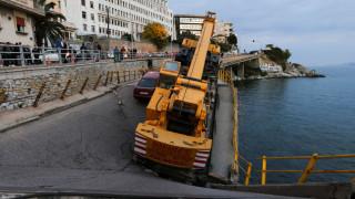 Συγκλονιστικές εικόνες από την κατάρρευση της γέφυρας στην Καβάλα