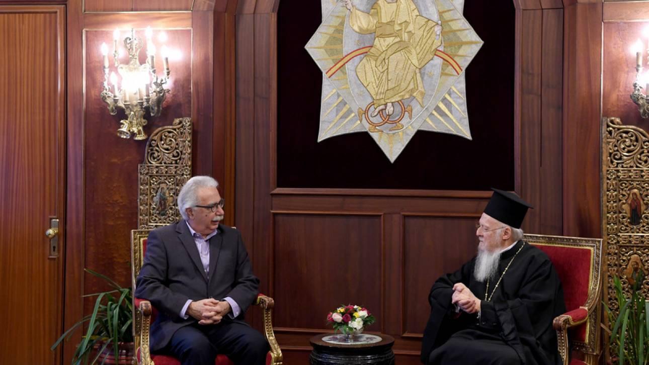 Στην Κωνσταντινούπολη ο Γαβρόγλου - Θα συναντηθεί με τον Βαρθολομαίο