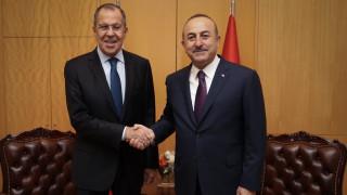 Επικοινωνία Λαβρόφ - Τσαβούσογλου για τη Συρία
