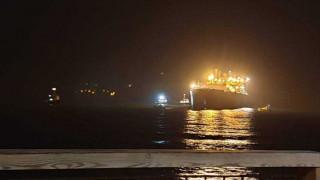 Κρήτη: Δεξαμενόπλοιο προσάραξε λίγο έξω από το λιμάνι του Ηρακλείου