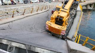Κατάρρευση γέφυρας στην Καβάλα: Αυτοψία από την υφυπουργό Μακεδονίας-Θράκης