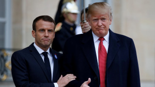 Συμφωνία Τραμπ-Μακρόν στο θέμα της άμυνας μετά την «παρεξήγηση» για τον ευρωπαϊκό στρατό