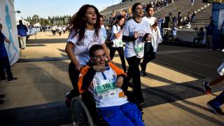 Μαραθώνιος 2018: Μήνυμα αισιοδοξίας στον αγώνα Special Olympics Hellas