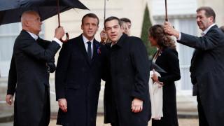 Τσίπρας από Παρίσι: Πρέπει να παλεύουμε καθημερινά για την ειρήνη