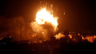 Γάζα: Ισραηλινά αεροσκάφη βομβάρδισαν τον τηλεοπτικό σταθμό της Χαμάς