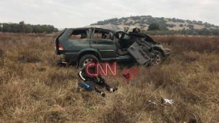 Τροχαίο δυστύχημα με μια νεκρή έξω από τη Θεσσαλονίκη (vid)