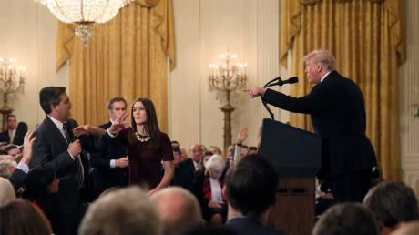 Αγωγή από το CNN στον Τραμπ και αξιωματούχους του Λευκού Οίκου