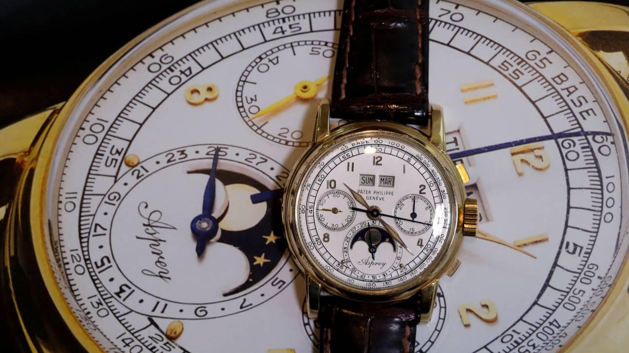 Vintage ρολόι χειρός πουλήθηκε σε δημοπρασία για 3,9 εκατ. δολάρια!