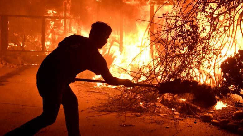 Παρόμοια με το Μάτι η φονική φωτιά στην Καλιφόρνια: Οι συνθήκες που οδήγησαν στην εξάπλωσή της
