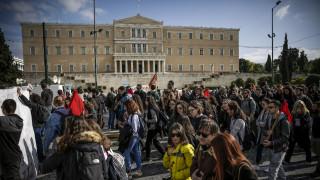 Ολοκληρώθηκαν οι απεργιακές κινητοποιήσεις στο κέντρο της Αθήνας