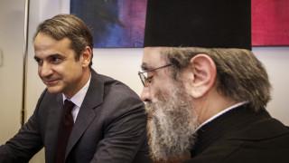 Αιχμές Μητσοτάκη για την ηγεσία της Εκκλησίας: Χρησιμοποιήθηκε από τον κ. Τσίπρα