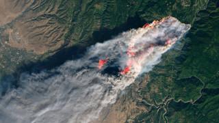 Φωτιά Καλιφόρνια: Η πύρινη κόλαση από ψηλά