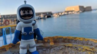Ο Κρητικός «αστροναύτης» Μανούσος έφτασε μέχρι τη στρατόσφαιρα και επέστρεψε σώος