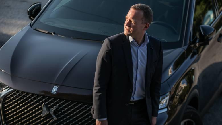 Arnaud Ribault: η DS εκπροσωπεί το know how της γαλλικής πολυτέλειας στην αυτοκινητοβιομηχανία