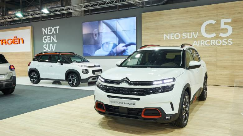 Το νέο SUV Citroen C5 Aircross εντυπωσιάζει στην έκθεση «Αυτοκίνηση ΕΚΟ 2018»