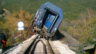 Εκτροχιασμός τρένου στο δρομολόγιο Λιανοκλάδι-Αθήνα