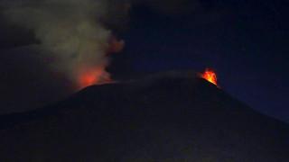 Έτσι θα ενημερώνονται οι Ιταλοί μία ώρα πριν την έκρηξη του ηφαιστείου της Αίτνας
