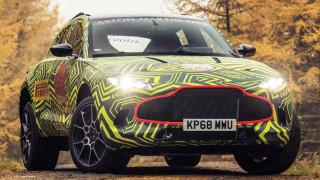 Αυτοκίνητο: Τα υπερ- πολυτελή SUV αυξάνονται συνεχώς - Αυτό της Aston Martin θα λέγεται DBX