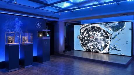 OMEGA SEAMASTER DIVER 300M: Η επίσημη παρουσίαση της νέας συλλογής ρολογιών της OMEGA στην Αθήνα
