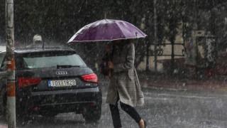 Έκτακτο δελτίο επιδείνωσης του καιρού από την ΕΜΥ: Βροχές, χιόνια και θυελλώδεις άνεμοι