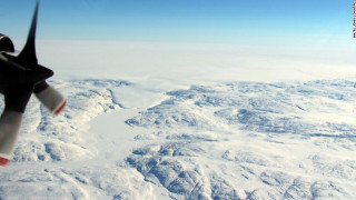 Ανακαλύφθηκε κρατήρας μεγαλύτερος της Ουάσινγκτον στη Γροιλανδία