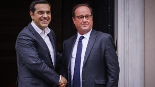 Τσίπρας σε Ολάντ: «Ήσουν πραγματικός φίλος της Ελλάδας στα δύσκολα»