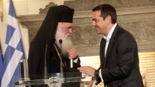 Ενιαίο «μέτωπο» Τσίπρα-Ιερώνυμου για το ιερό deal