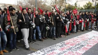 Πολυτεχνείο 2018: Ξεκίνησε η πορεία για την 45η επέτειο της 17ης Νοεμβρίου