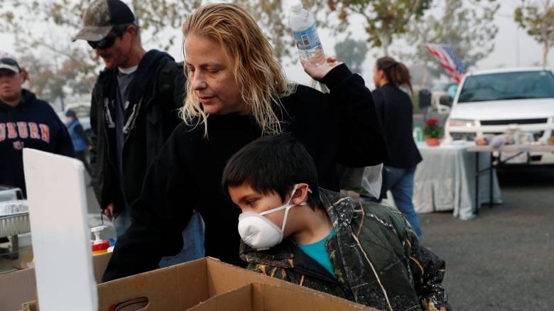Καλιφόρνια: Κίνδυνος σφοδρών βροχοπτώσεων μετά τη φονική πυρκαγιά