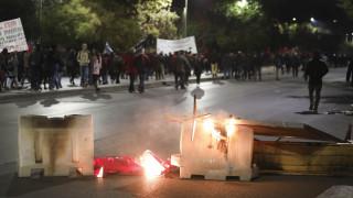 Πολυτεχνείο 2018: Επεισόδια στη Θεσσαλονίκη – Πετροπόλεμος και μολότοφ