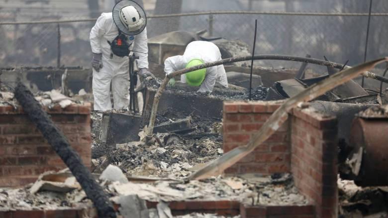 Καλιφόρνια: Αυξάνονται οι νεκροί από τις φονικές πυρκαγιές - 1276 οι αγνοούμενοι