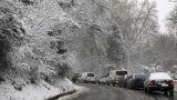 Κακοκαιρία: Στα «λευκά» πολλές περιοχές της χώρας-Προβλήματα λόγω θυελλωδών ανέμων