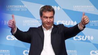 Γερμανία: Υποψήφιος για την ηγεσία του CSU ο πρωθυπουργός της Βαυαρίας