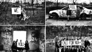 Το συγκινητικό μήνυμα νέων προς την Καλιφόρνια με φόντο τις καμμένες περιουσίες στο Μάτι