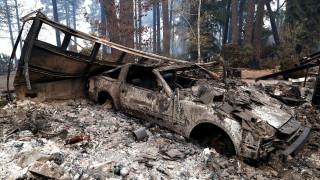 Η Paradise της Καλιφόρνια πριν και μετά τις καταστροφικές πυρκαγιές