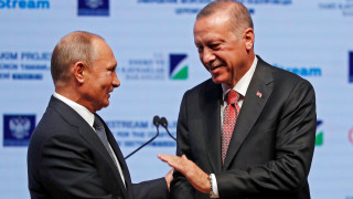 Ερντογάν και Πούτιν εγκαινίασαν τον αγωγό αερίου TurkStream που ενώνει τις δύο χώρες