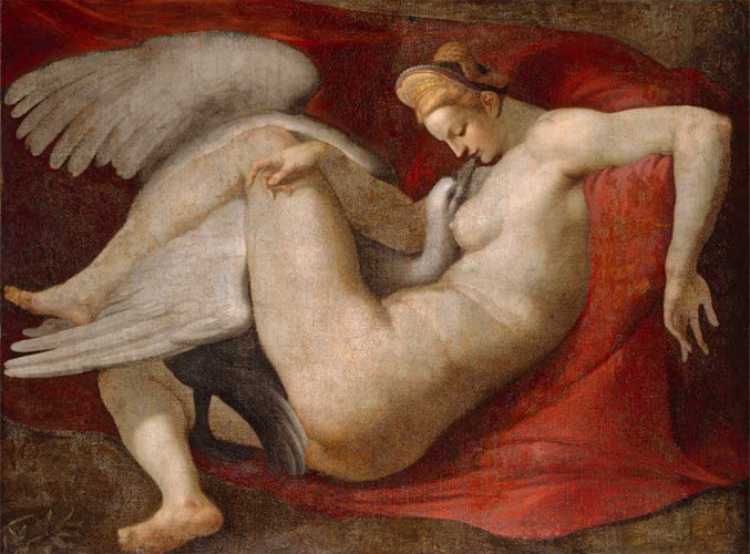 Leda after Michelangelo Buonarroti