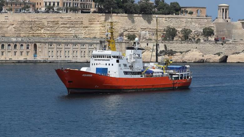 Ιταλία: Κατάσχεση του πλοίου Aquarius διατάσσει η εισαγγελία της Κατάνια