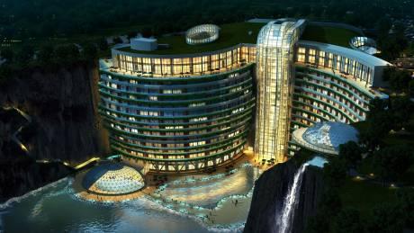 Αυτό είναι το πρώτο ξενοδοχείο του κόσμου χτισμένο σε λατομείο