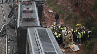Κατολίσθηση προκάλεσε τον εκτροχιασμό τρένου στην Καταλονία