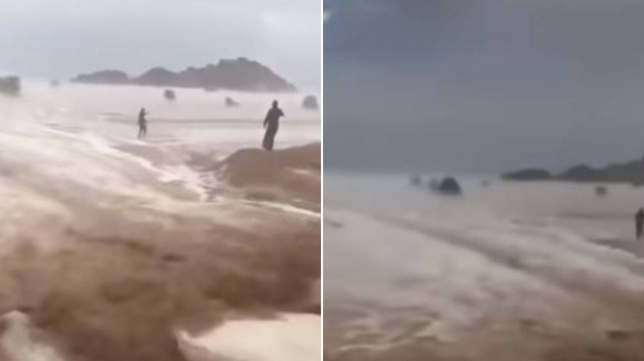 Πρωτοφανής κακοκαιρία στη Σαουδική Αραβία  - Πλημμύρισε ακόμη και η έρημος