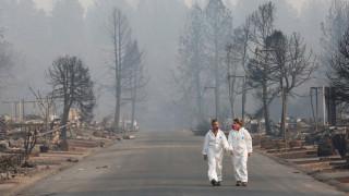 Φωτιές Καλιφόρνια: Η καταστροφή από το Διάστημα