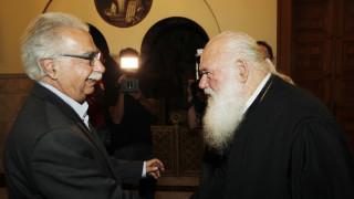 Συνάντηση Γαβρόγλου-Ιερώνυμου για την «ιερή συμφωνία»