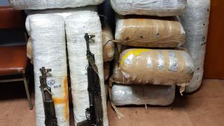 Μεγάλη ποσότητα ναρκωτικών μετέφεραν οι κακοποιοί που συνεπλάκησαν με αστυνομικούς στα σύνορα