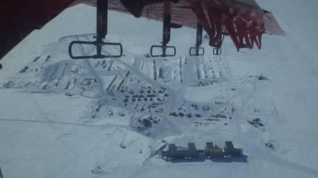 Ανακαλύφθηκε μεγάλη γεωθερμική πηγή κάτω από τους πάγους της Ανταρκτικής