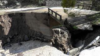 Μυτιλήνη: Ομάδα του ΕΚΠΑ στο Πλωμάρι μετά την κατολίσθηση